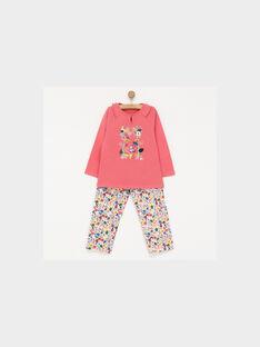 Pyjama rose PIWAJETTE / 18H5PF52PYJ313