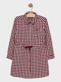 Robe chemise à carreaux fille SOIKOKETTE / 19H2PFI2ROBF511