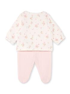 Ensemble veste et legging à imprimé fantaisie naissance fille BONNIE / 21H0NF41ENS301