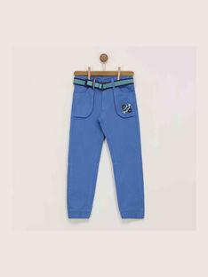 Pantalon bleu  REDIJIAGE / 19E3PGC1PANC202