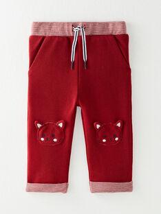 Pantalon de jogging bordeaux  VAFATHI / 20H1BG61JGB719