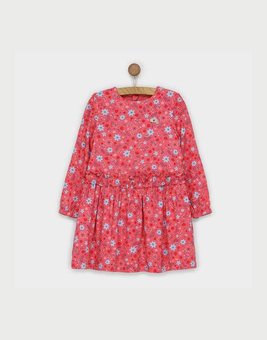 Robe rose RABYVETTE / 19E2PF41ROB303