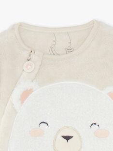 Sur-pyjamas ours bébé garçon  VELOGAN / 20H5BG31SPYI801