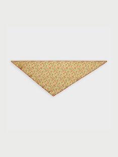 Foulard jaune RYSSONETTE / 19E4PFH1FOU010