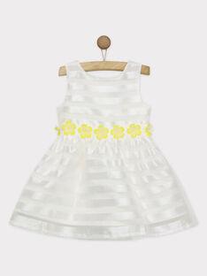 Robe blanche RYEVIETTE / 19E2PFS1ROB001