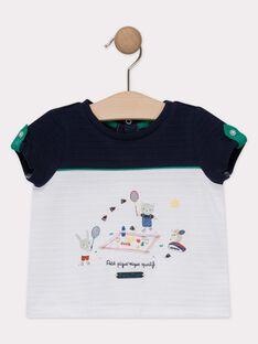 Tee-shirt bébé garçon bicolore  TALIAM / 20E1BGH1TMC000