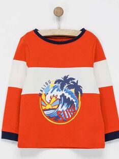 Sweat shirt orange NABALOAGE5 / 18E3PGU5SWE400