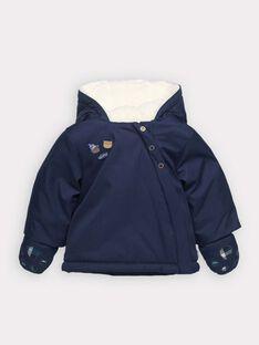 Parka bleu marine bébé garçon   SIROMEO / 19H1BGJ1PAR702
