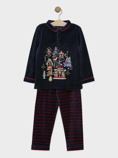 Pyjama Bleu nuit SOVILLAGE / 19H5PGQ2PYJC205