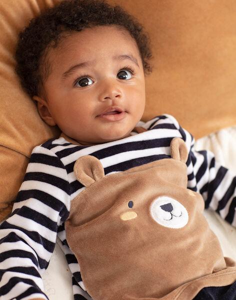 Ensemble pyjama manches longues à motifs ourson bébé garçon BEAUGUST / 21H5BG61PYJ715