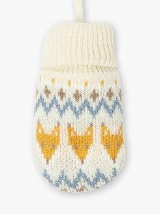 Moufles beige en tricot  VIKARIM / 20H4BGJ1GAN808