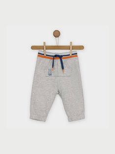 Pantalon de jogging gris chiné RAARMOR / 19E1BG21JGB943
