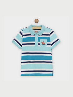 Polo turquoise RAPOLAGE3 / 19E3PGB3POL202