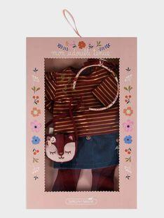 Tenue poupée Indien poupre SEALITENU7 / 19HZENS8TENF511