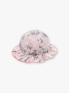 Chapeau rose réversible bébé fille ZASABLE / 21E4BFU1CHA321