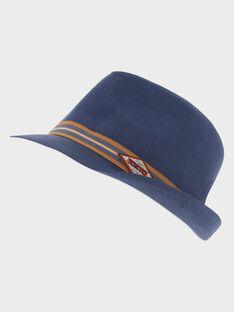 Chapeau bleu petit garçon  TITRAGE / 20E4PGP1CHAC205