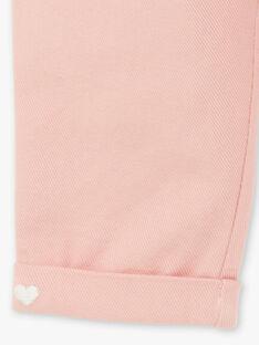 Pantalon maille rose pâle ZABONY / 21E1BF71PAND327