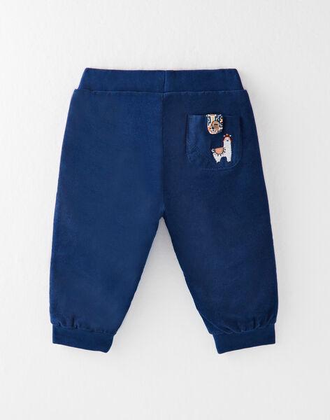 Pantalon bleu marine  VANATHAN / 20H1BGU2PAN702