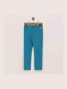 Pantalon turquoise RERIFAGE / 19E3PGD1PAN202