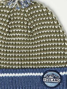 Bonnet en tricot fantaisie petit enfant garçon VEBONAGE / 20H4PGI3BON604