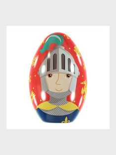 Œuf de Pâques Chevalier avec cape à colorier RYCHEVAGE / 19E3PGG4CPO000
