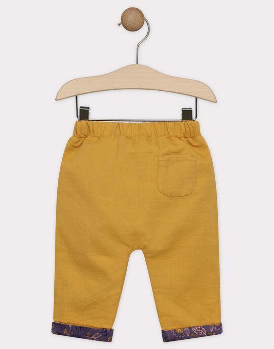 Pantalon sarouel moutarde bébé fille SAGRACE / 19H1BF61PAN804