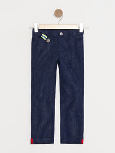 Pantalon Bleu marine TYCROLAGE / 20E3PG11PAN705