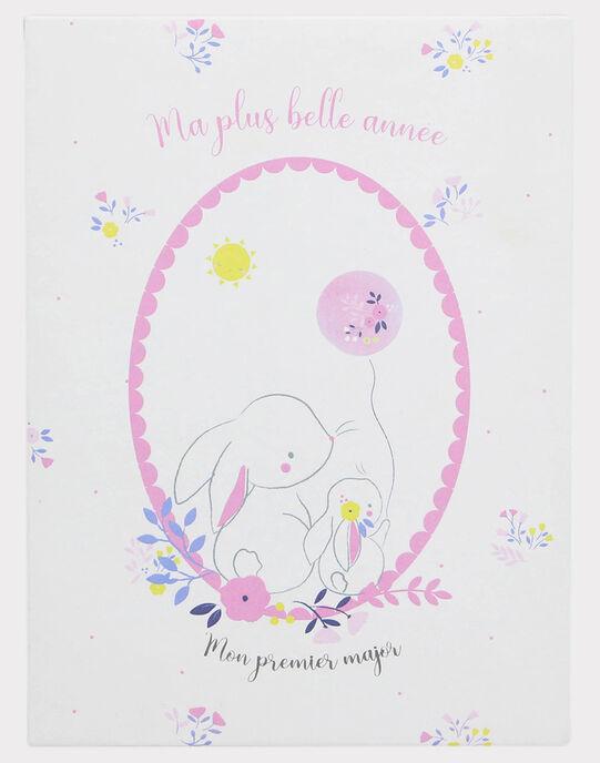 12 Cartes étapes première année bébé fille TROCARTE1 / 20EZNAF2CNA000