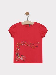 Tee-shirt avec petites manches ballons SAMAVETTE / 19H2PF31TMCD325