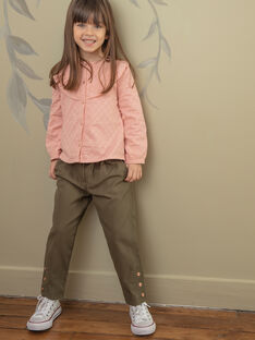 Pantalon enfant fille ZAPAETTE / 21E2PF71PAN604