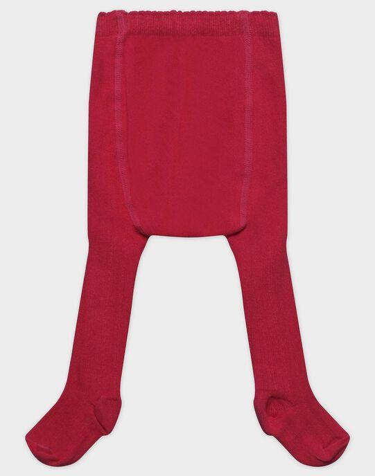 Collant rose framboise bébé fille SANITA / 19H4BFE1COL308