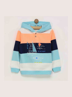 Sweat shirt turquoise RENORAGE / 19E3PGD1SWE203