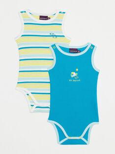 Lot de deux body bébé garçon   TIYAEL / 20E1BGM1LDBB113