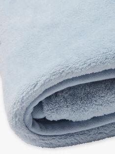 Couverture bleue et blanche naissance garçon BONNO / 21H0AG41D4P219