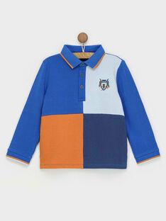 Polo bleu RABIAGE / 19E3PG41POL217