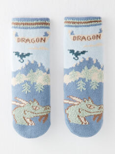 Chausettes tricot anti-dérapantes dragon VERAPAGE / 20H4PGR1SOA216