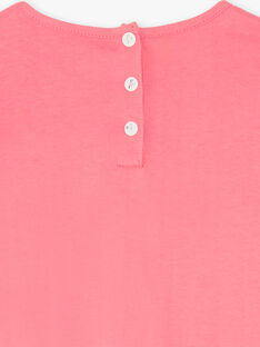 Pyjama corail jersey  ZEDORETTE / 21E5PF11CHN419