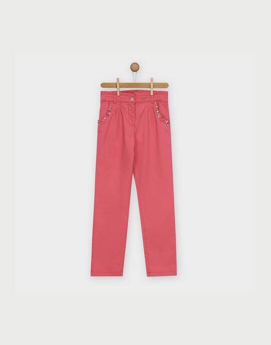 Pantalon rose RABUBETTE / 19E2PF41PAN303