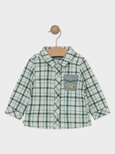 Chemise à carreaux bébé garçon    TAAEL / 20E1BGB1CHMG624