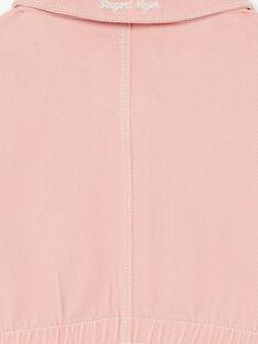 Veste rose resserée à la taille ZOUSARETTE / 21E2PFM1VESD327