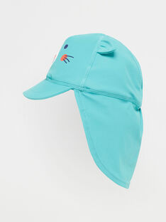 Casquette anti UV bébé garçon  TIBRANDON / 20E4BGI2CHA630