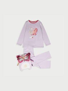 Pyjama mauve RIVAVETTE 2 / 19E5PF52PYT328