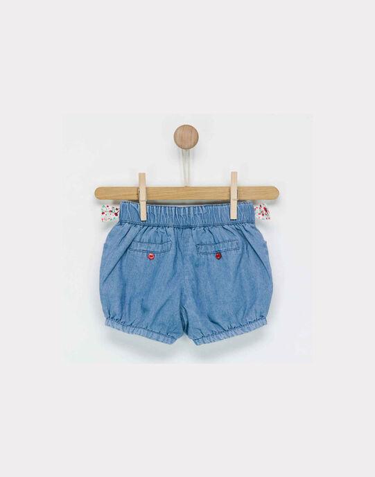 Short bleu jean NADRIANA / 18E1BF81SHO704