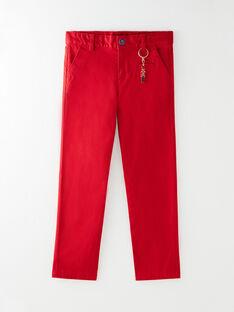 Pantalon Rouge VOSOTAGE / 20H3PGZ1PAN502