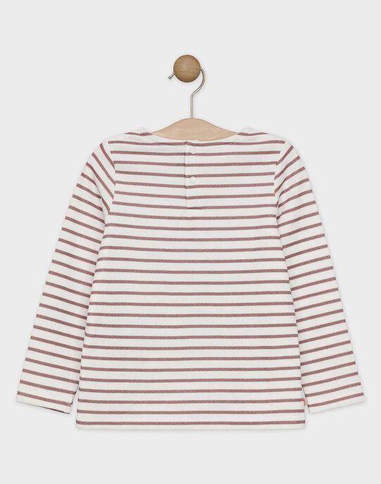 Tee Shirt Manches Longues Ecru SOBILETTE / 19H2PF64TML001