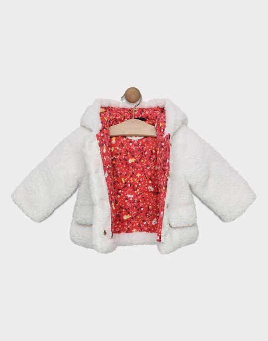 Veste à capuche doublée AOP avec découpes et nœud AOP + Poches devant  SIMONE / 19H1BF72VES001