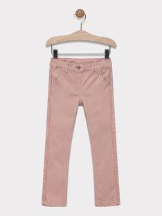 Pantalon rose clair fille SAPOLETTE 4 / 19H2PF94PAND310