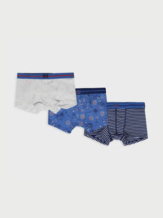 Boxer bleu marine REBOXAGE / 19E5PG82BOX716