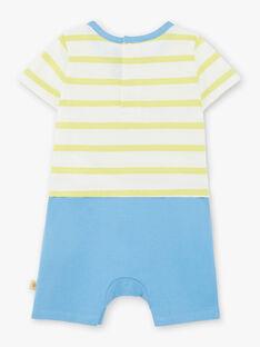 Combinaison courte de plage à rayures bébé garçon ZUABOAT / 21E1BGQ1CBL617