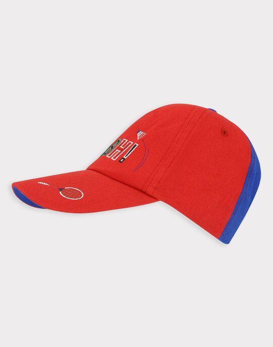 Casquette rouge et bleue petit garçon  TECHAPAGE / 20E4PGH1CHA216
